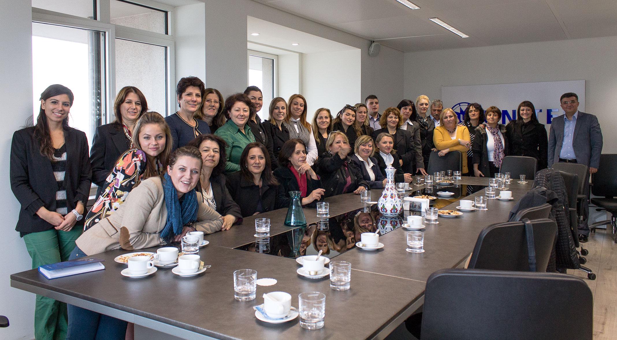 2013-11-27_Bulgarian Women Entrepreneurs Visit