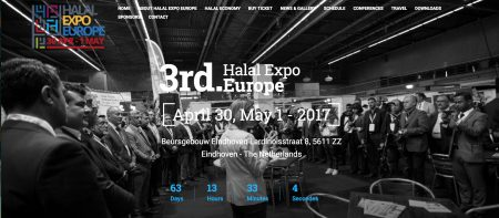 Halal Expo Europe 2017, Eindhoven