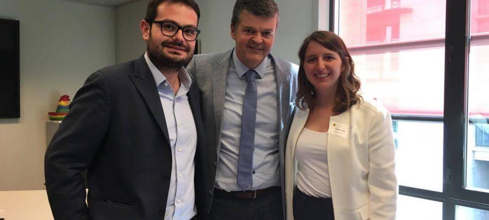 UNITEE met with Bart Somers, Mayor of Mechelen and Mayor of the Year 2016
