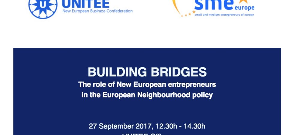 Roundtable on the role of New European Entrepreneurs in the European Neighborhood policy