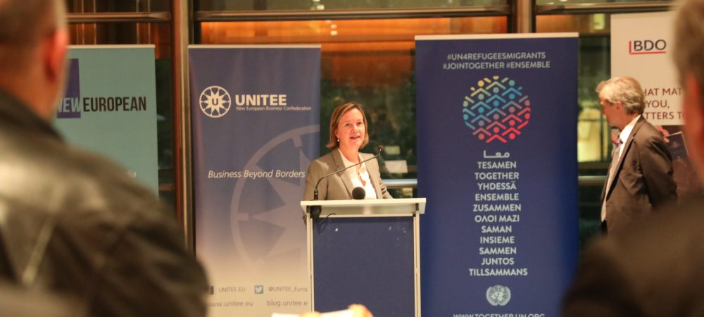 Friends of New Europeans' Annual Reception with the UN TOGETHER Campaign