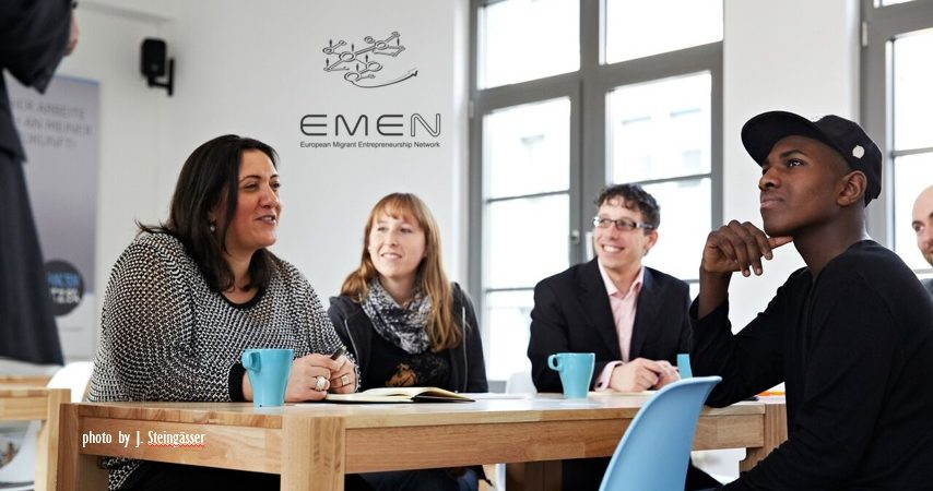 "Successful kick-off for project ""European Migrant Entrepreneurship Network"" (EMEN)"