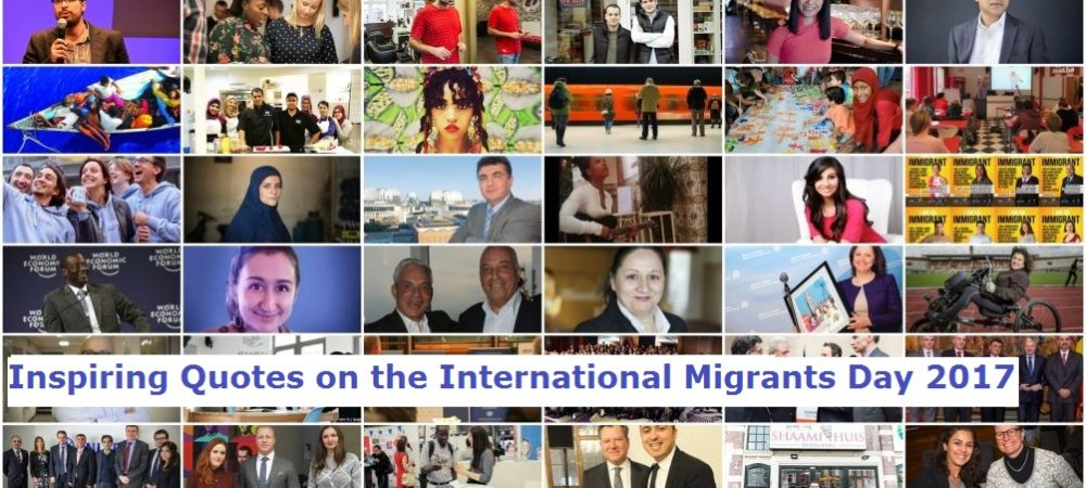 Inspiring Quotes on the International Migrants Day 2017