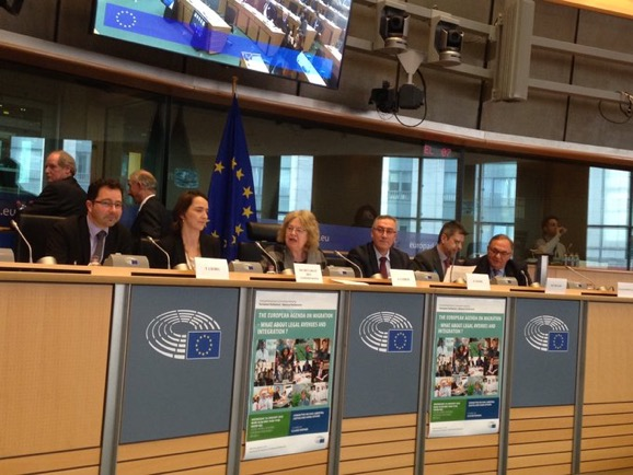 UNITEE participates at EP meeting on The European Agenda on Migration